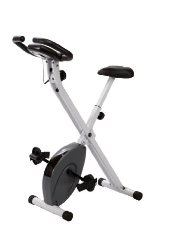 Marcy Foldable Exercise Bike Counterweighted