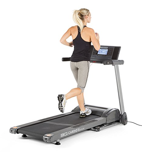 3G Cardio Fold Flat Treadmill
