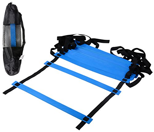 CQ Wellness Adjustable Agility Ladder