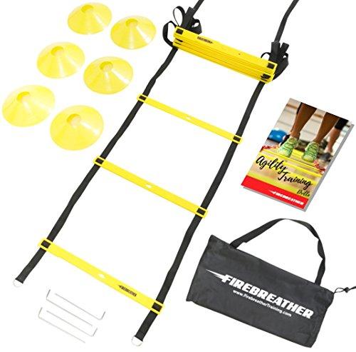 AGILITY LADDER FireBreather Training Adjustable