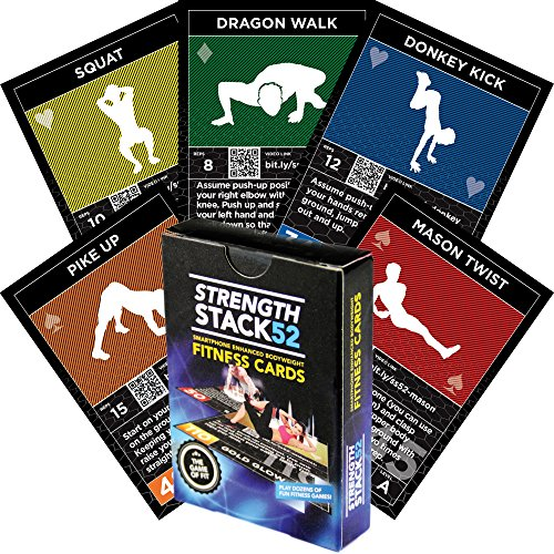 Exercise Cards Bodyweight Instructions Included