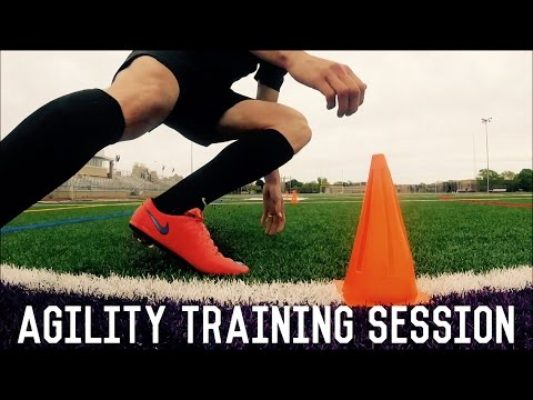 Change Direction Faster | Agility Training For Footballers & Soccer Players | Individual Drills