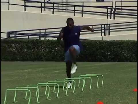 Developing Football Speed and Agility – Training Routine and Drills