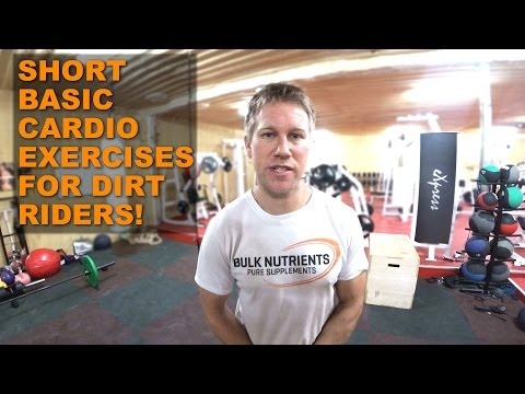 FITNESS FOR DIRT RIDERS: Cardio exercises using interval training