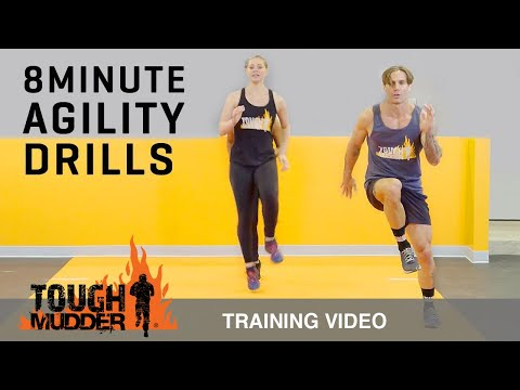 8 Min Agility Drills to Increase Speed and Endurance – Ep. 4   Tough Mudder