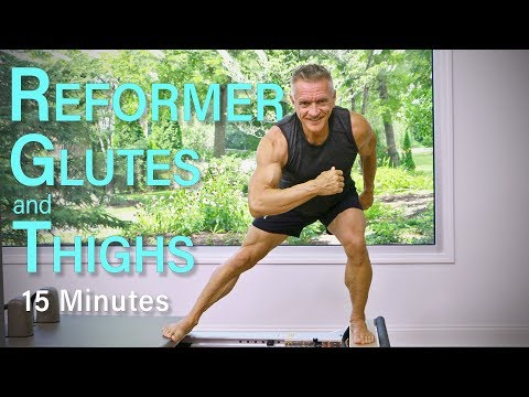 Intermediate Pilates Reformer – 15 Minute Glutes and Thighs Workout