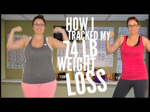 How I Tracked My 74 Lb WEIGHT LOSS to Stay Motivated | Ashley Salvatori