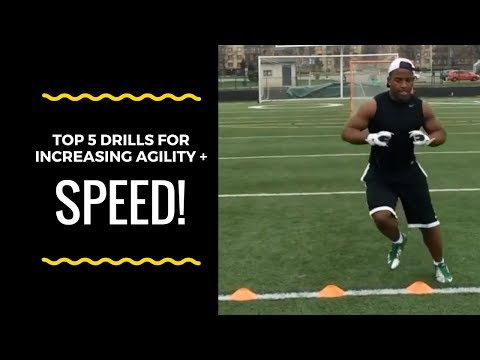 """5 """"Speed and Agility Drills"""" Every Athlete Needs To Be The Best Athlete"""
