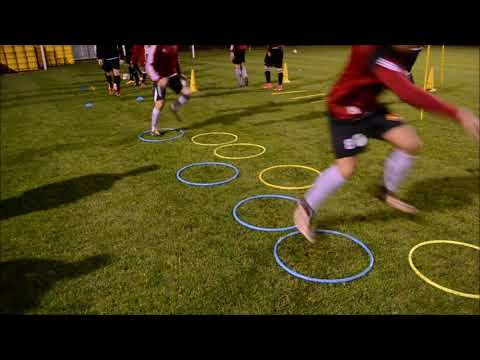 Soccer Coordination Warm Up and SAQ Training (Speed – Agility – Quickness)