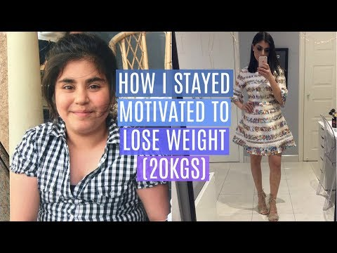 WEIGHT LOSS MOTIVATION: How to stay MOTIVATED to LOSE WEIGHT!!