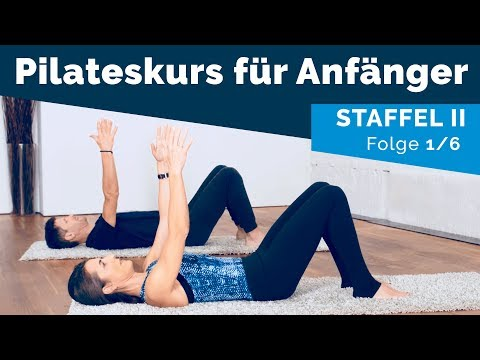 Pilates für Anfänger II — Kräftigung und Mobilisierung des Schultergürtels (1/6, auf Deutsch)