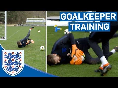 Reactions, Speed and Agility Tests   U21 Goalkeeper Training   Inside Training