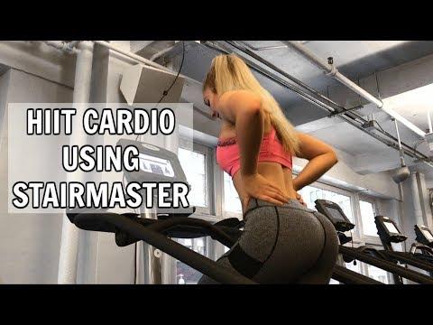 Intense Cardio On StairMaster – Gym Workout (Beginner Friendly)