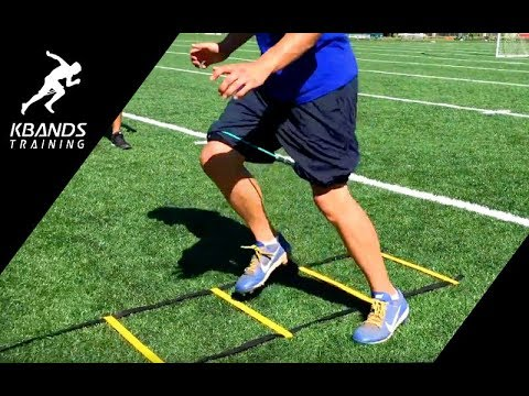 New Speed and Agility Training At The Park   Increase Top Speed With Ladder Drills
