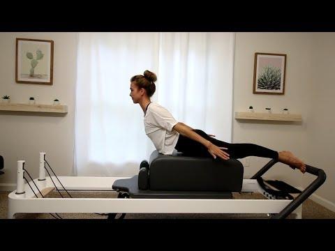Pilates Reformer Exercises for the Back