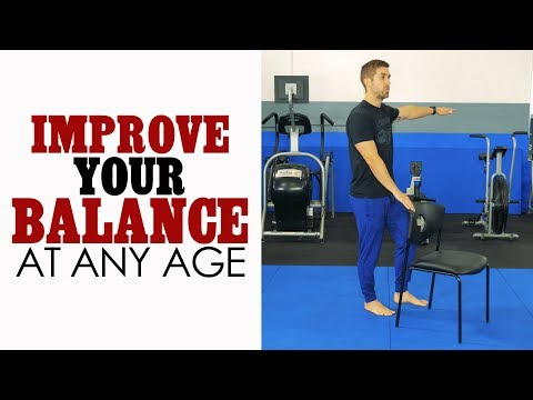 Prevent FALLS with These Simple Balance Exercises for Seniors and Elderly Adults