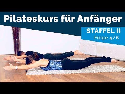 Rhomboid Squeeze und Swimming — Pilates für Anfänger II (4/6 Auf Deutsch)