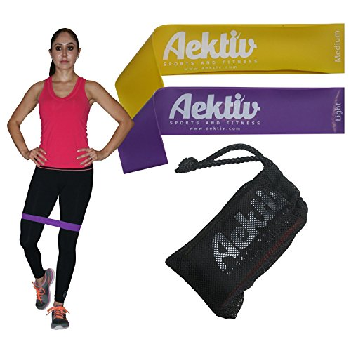 Exercise Resistance Bands Physical Stretching