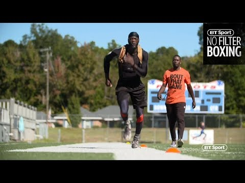 Speed and agility training with Deontay Wilder | No Filter Boxing