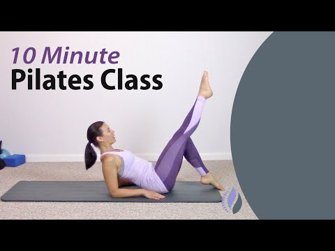 10 Minute Pilates Class for Rotation | At home Pilates Workout