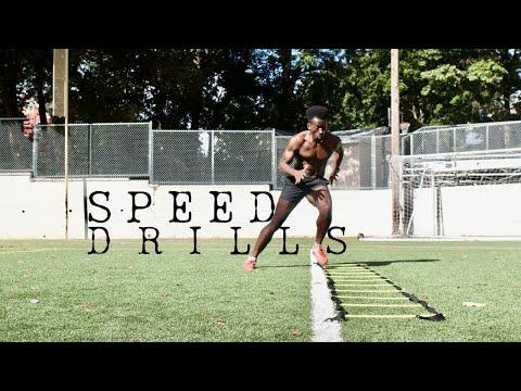 speed agility drills | explosive running SAQ
