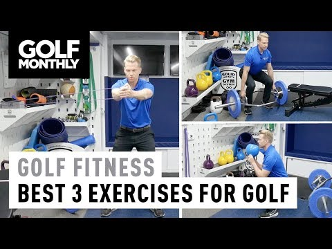 Top 3 Golf Exercises You Can Do | Fitness Tips | Golf Monthly