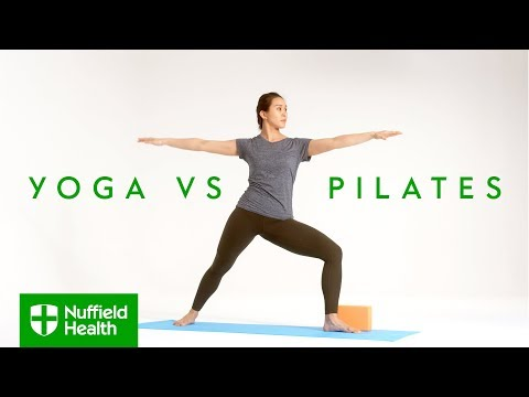 Yoga vs Pilates: what's the difference?