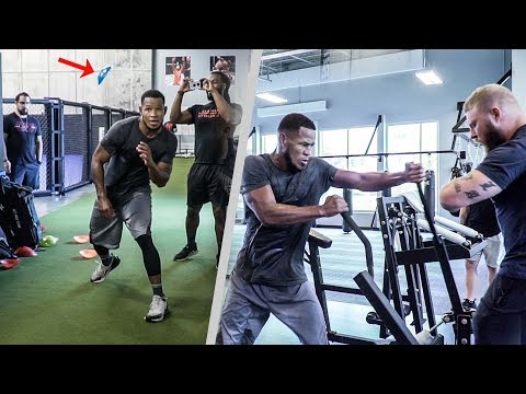 Speed Agility & Power Workout For Boxing | Sullivan Barrera Fight Camp