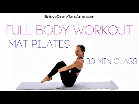 30 Min Total Body Pilates ♥ All Level Home Workout ♥ Sexy Butt, Abs, Arms ♥ Pilates with Juliette