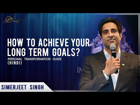 Achieving your Long Term Goals | Weight Loss Motivation Hindi |Personal Transformation Guide by #SJS