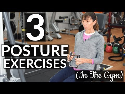 3 Physio Guided Posture Improvement Exercises (GYM Based)