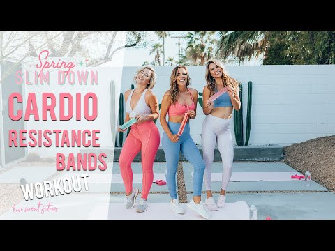 CARDIO Resistance Bands Workout | Fat Blasting Exercises
