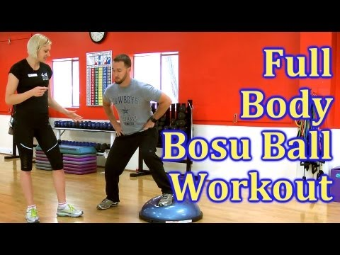 Full Body Bosu Ball Workout | Fat Burn Training, How To for Beginners | The Hills Fitness Austin