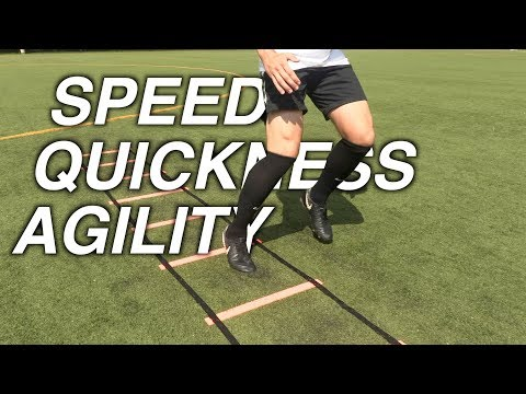 Speed Ladder Drills – Improve Speed, Quickness and Agility