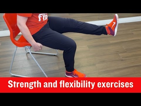 British Heart Foundation – Strength and flexibility exercises