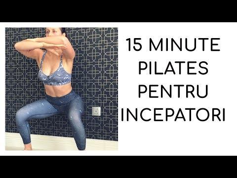 15 MINUTE PILATES PENTRU INCEPATORI