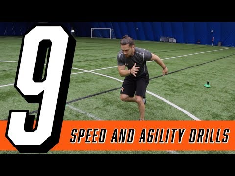 9 BEST Speed and Agility Drills at home