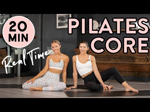 Core & Ab Pilates Home Workout | 20min REAL TIME workout