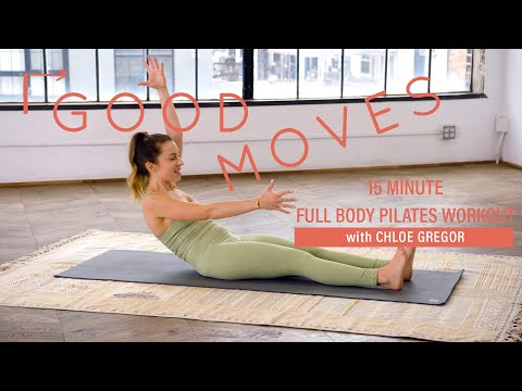 15 Minute Full Body Pilates Workout | Good Moves | Well+Good