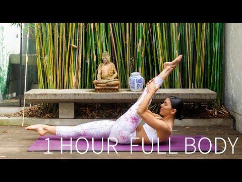 1 HOUR FULL BODY WORKOUT || Full Length Intermediate Pilates Class