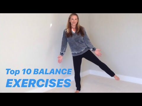 Ten best exercises to improve your balance