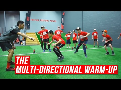 Youth Speed & Agility Training // Multi-Directional Warm-Up