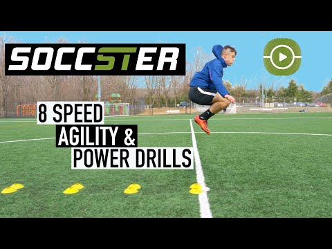 8 Exercises to Improve Speed, Agility & Power