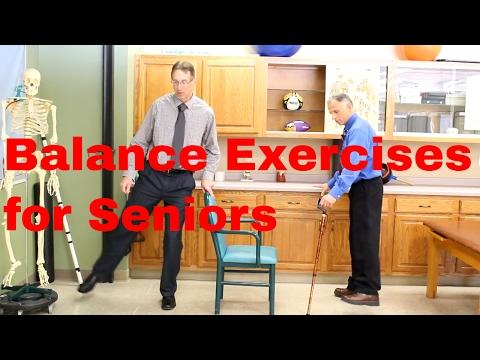 Balance Exercises for Seniors-Beginner to Advanced