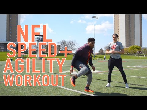NFL Speed and Agility Workout: Pro Football Training Session