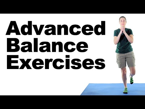 10 Best Balance Exercises (Advanced) – Ask Doctor Jo