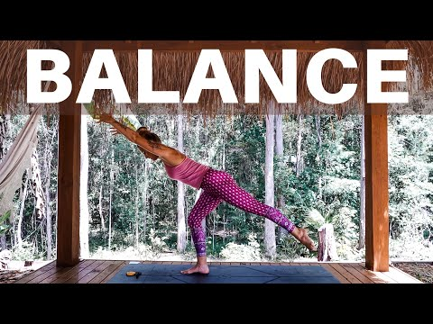 Training for BALANCE | 15 minute home workout | Ashley Freeman