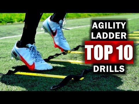 10 Speed & Agility Ladder Drills For Fast Footwork & Quickness: Level 1