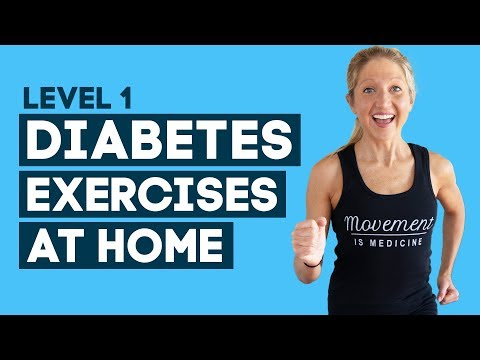 Diabetes Exercises At Home Workout: To Help Control Diabetes (Level 1)