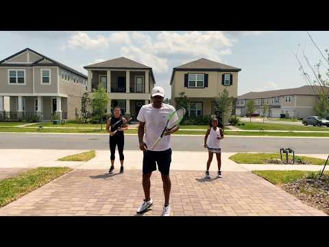 Stay At Home Tennis Exercises: Cardio Blast Workout